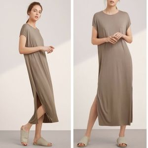 Aritzia Wilfred Free Grey Norgaard Maxi Dress XXS